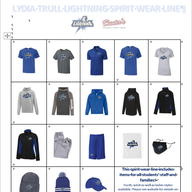 New Lydia Trull PS Spirit Wear Now Available